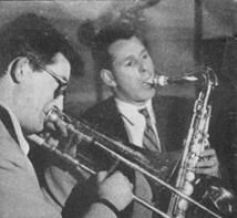 Keith Christie with Don Rendell (1954)