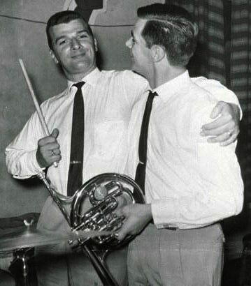 Allan Ganley with Jimmy Deuchar