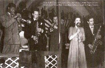 Club Eleven, 1948 with Pete Pitterson, Johnny Rogers, Nat Gonella and Ronnie Scott